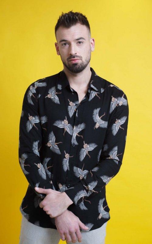 Camisa Aves 1