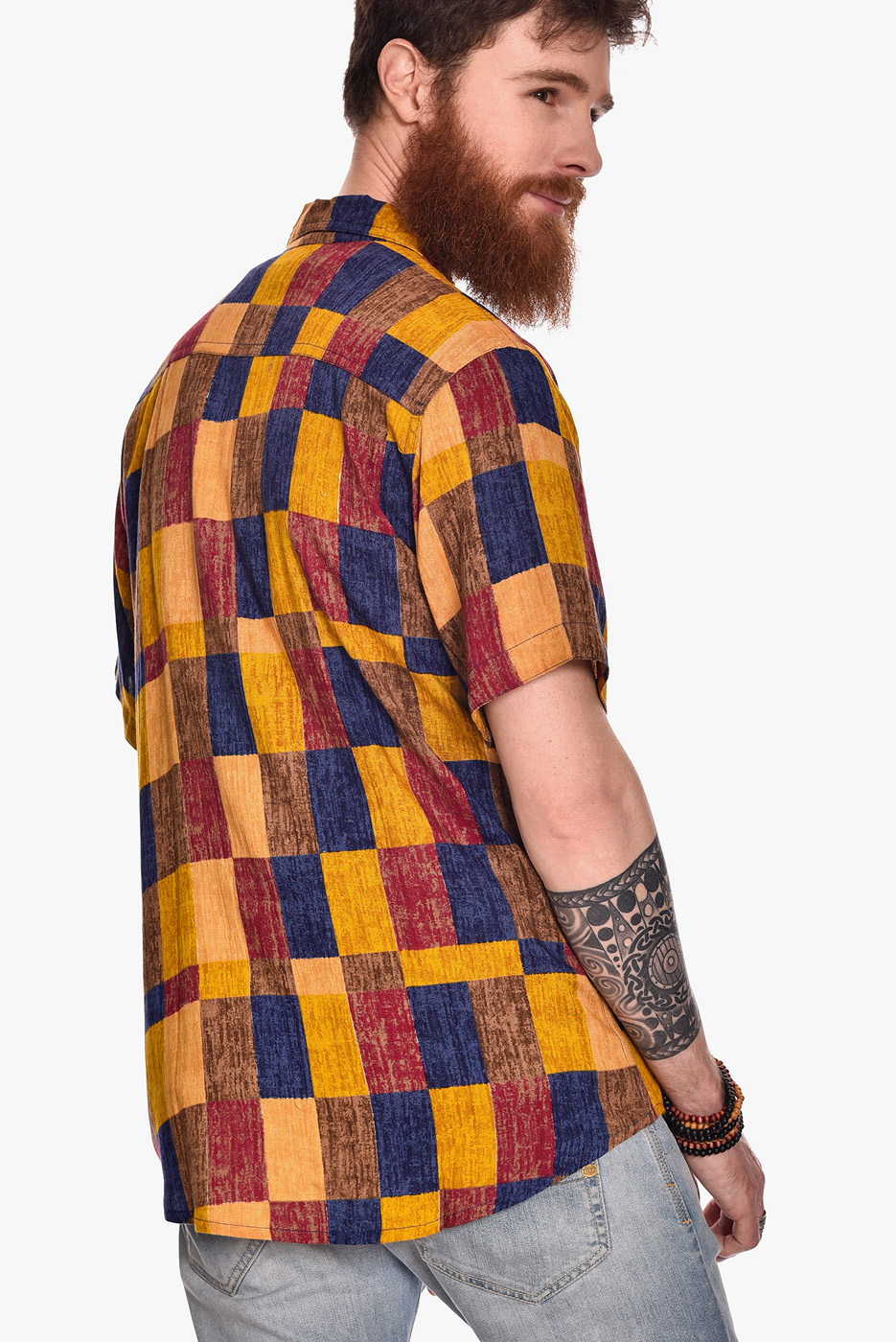 camisa-manga-corta-estampado-rock-angle