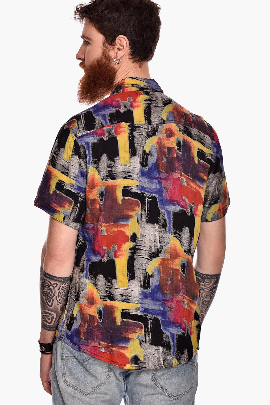 camisa-manga-corta-estampado-rock-fluor-II