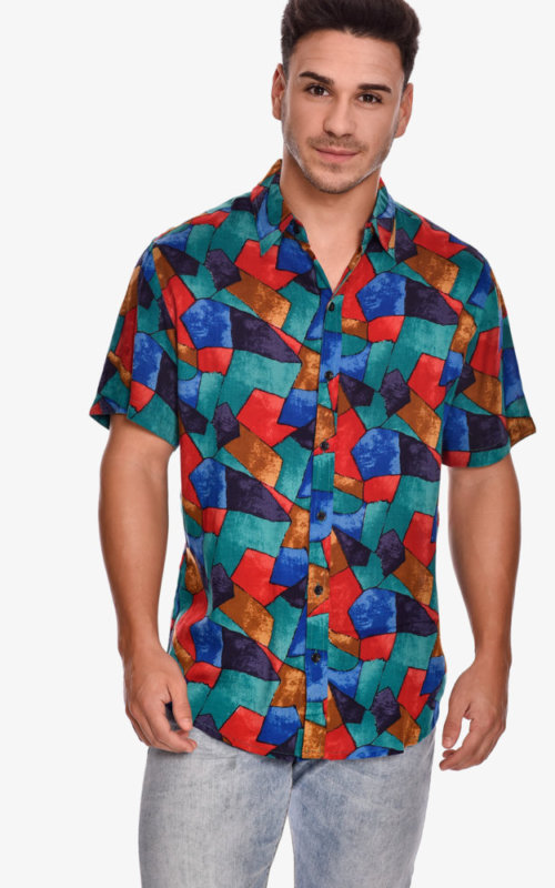 camisa-manga-corta-estampado-rock-scale