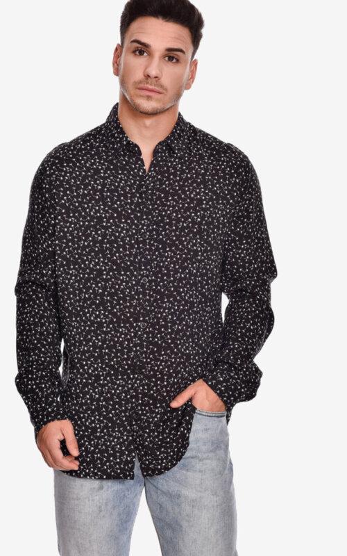camisa-manga-larga-estampado-jazz-shirt-lion