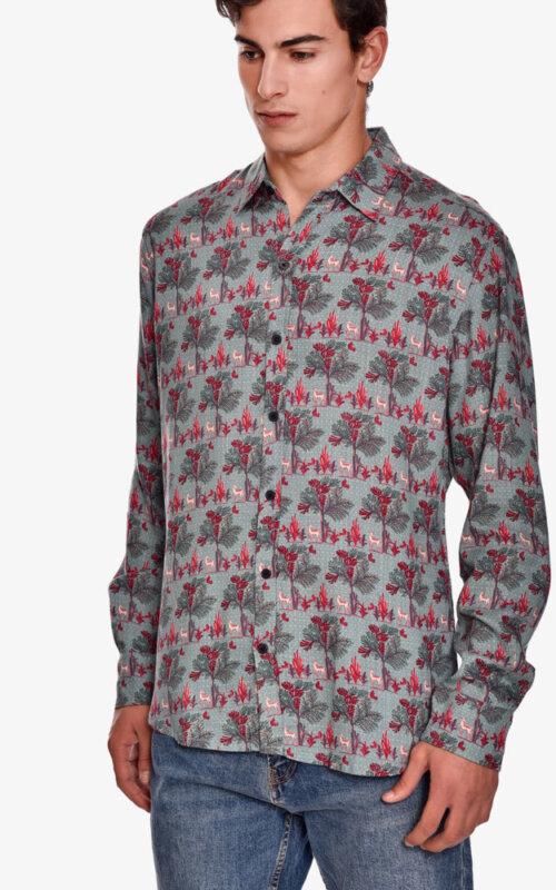 camisa-manga-larga-estampado-jazz-shirt-tree