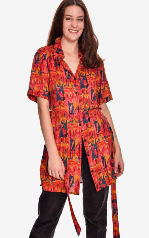 vestido-camisero-estampado-salsa